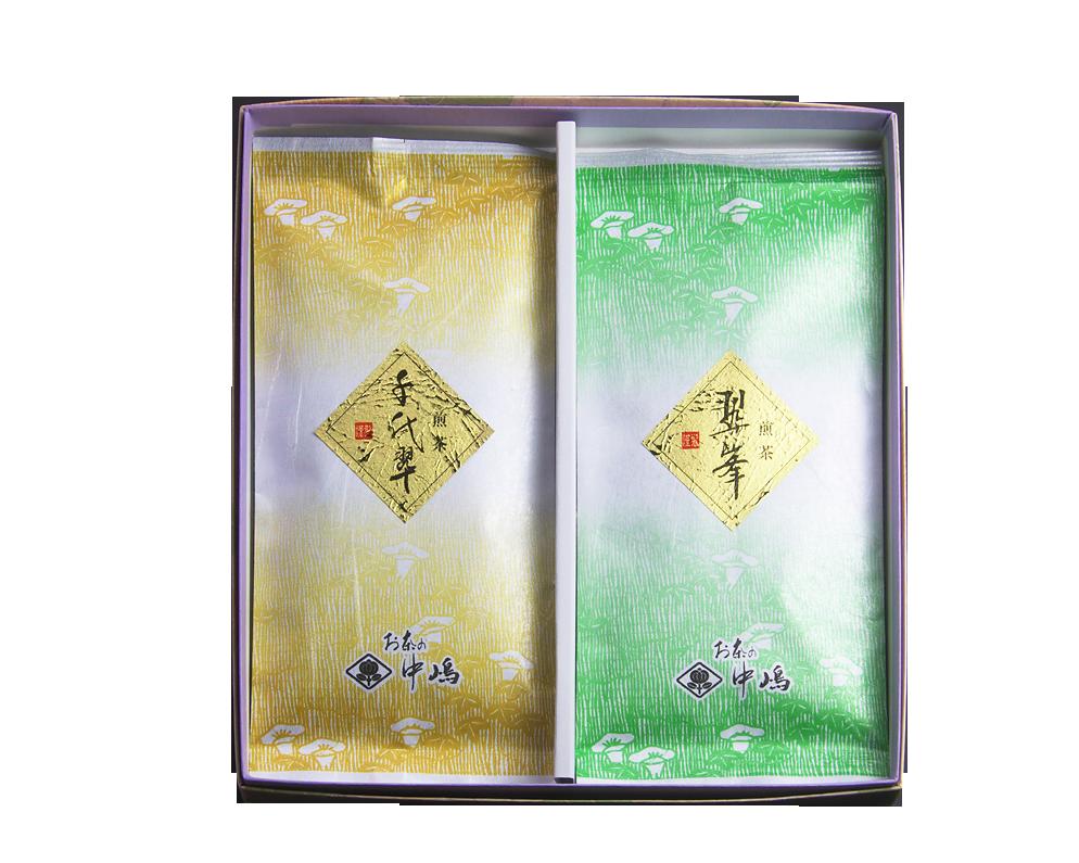 煎茶の詰め合わせ  <br /> 翠峰・千代翠