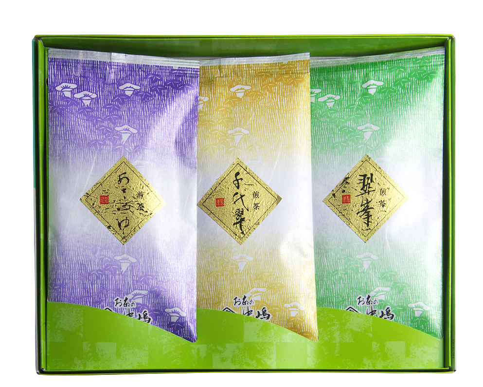煎茶の詰め合わせ   翠峯・千代翠・あさつゆ