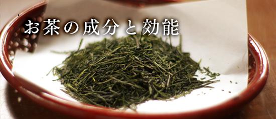 お茶の成分と効能