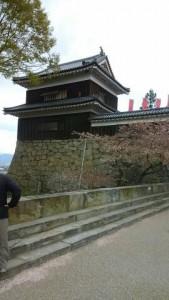 上田城-退城
