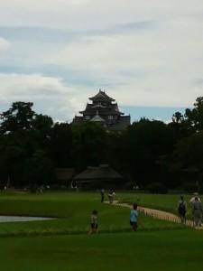 後楽園-岡山城