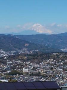小室山からの富士山