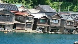 伊根の舟屋-1