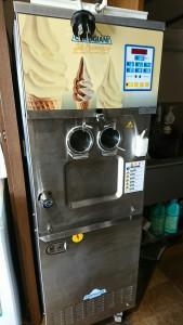 ソフトクリーム機械故障