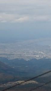 八甲田からの青森市