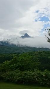 オタトマリ沼での利尻富士